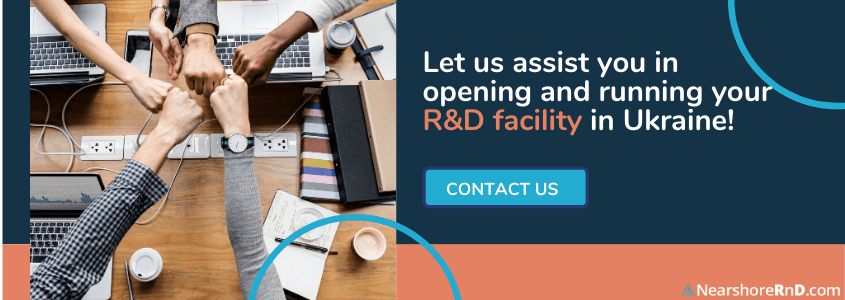 build your center in ukraine at affordable r and d costs