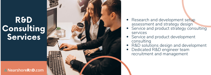 list of r&d consulting services